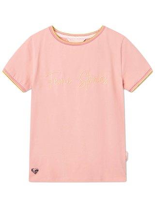 Femi Stories COSMA PNK dámské triko s krátkým rukávem - růžová