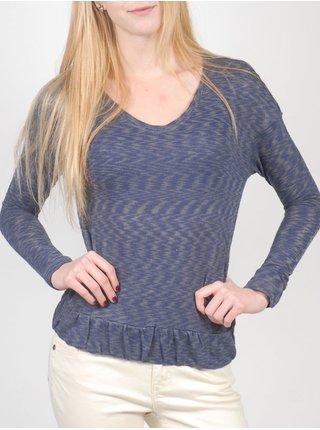 Roxy ABOAT TIME BTN6 dámské triko s dlouhým rukávem - modrá