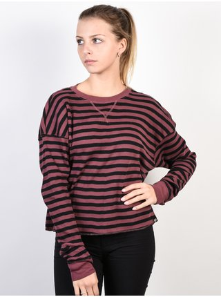 Fox Striped Out ROSE dámské triko s dlouhým rukávem