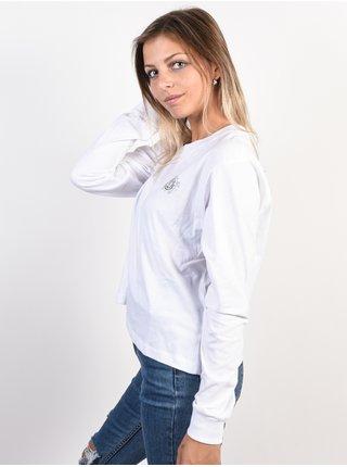 Element TIMBER CROP white dámské triko s dlouhým rukávem - bílá