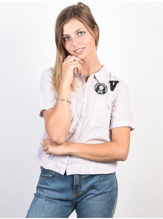 Volcom Stone Resort LIGHT PURPLE košile pro ženy - fialová