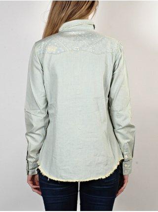 Billabong FINE 4 N DANDY       USED dámská košile s dlouhým rukávem - modrá