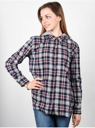 Element FELIX indigo dámská košile s dlouhým rukávem - černá