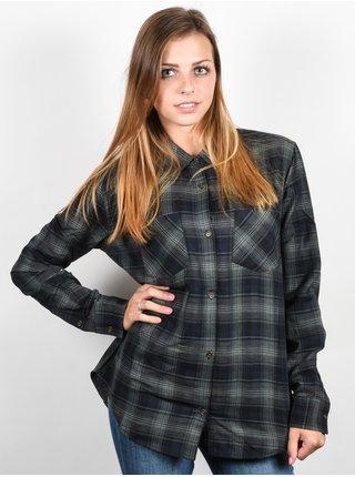 Element SHAYLA ECLIPSE NAVY dámská košile s dlouhým rukávem - černá
