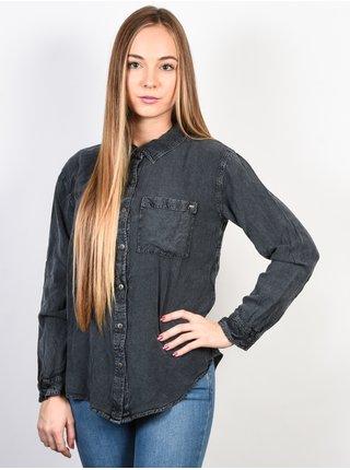 Rip Curl YTTRO  EBONY dámská košile s dlouhým rukávem - šedá