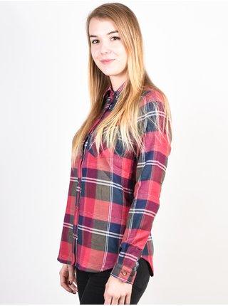 Femi Stories KARMEN PLDPUR dámská košile s dlouhým rukávem - barevné