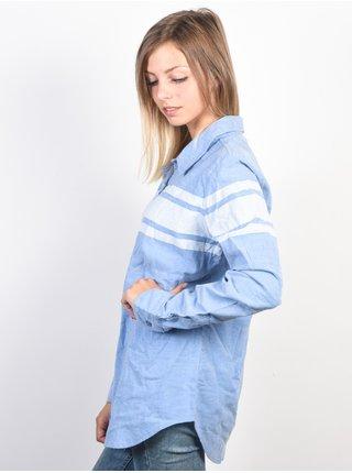 Element JANEY OXFORD BLUE dámská košile s dlouhým rukávem - modrá