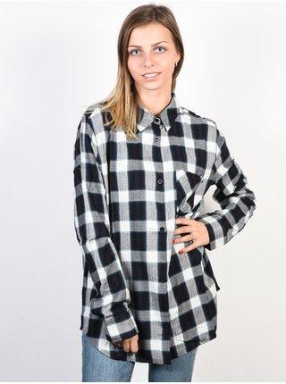 Element WORTH IT ARCTIC dámská košile s dlouhým rukávem - černá