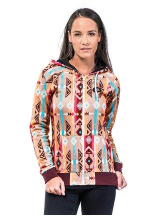 Horsefeathers CLEA azteca dámská mikina - barevné
