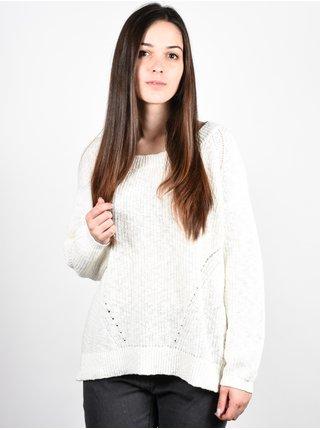 Element FAREWELL IVORY svetr dámský - bílá
