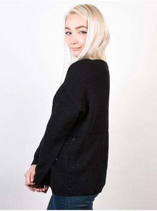 Roxy DESERVE GOOD THINGS ANTHRACITE svetr dámský - černá