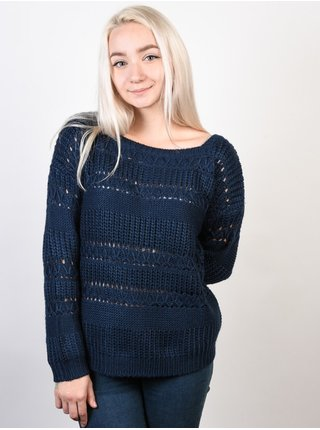Roxy DREAM BELIEVER DRESS BLUES svetr dámský - modrá