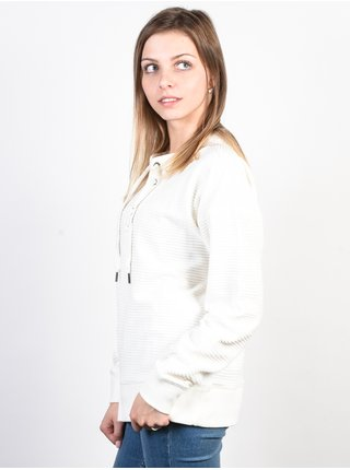 Roxy LUCKY SUNSHINE Marshmallow svetr dámský - bílá