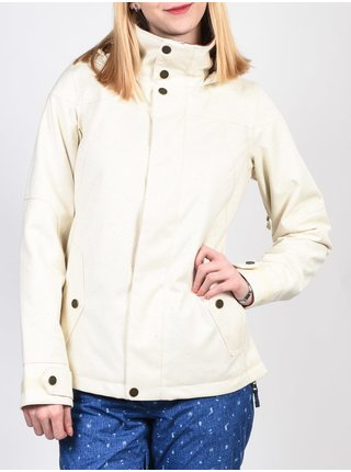 Burton JET SET CANVAS COLOR SLUB zimní dámská bunda - bílá