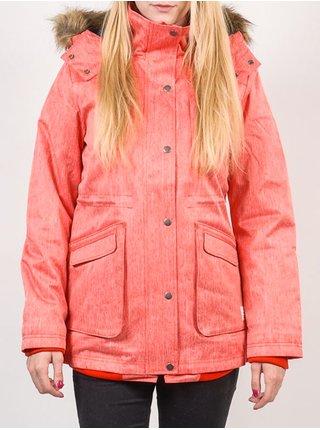 Vans CADET 2 PARKA FLAME SCARLET zimní dámská bunda - oranžová