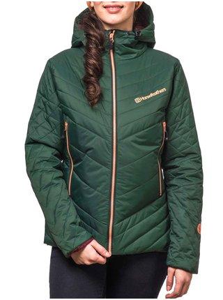 Horsefeathers DITA olive zimní dámská bunda - zelená