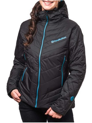 Horsefeathers DITA black zimní dámská bunda - černá