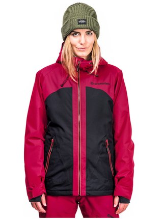 Horsefeathers ABBY  PERSIAN RED zimní dámská bunda - červená