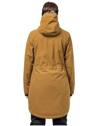 Horsefeathers POPPY cumin zimní dámská bunda - hnědá