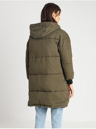 Billabong UNDER SPELL olive zimní dámská bunda - hnědá