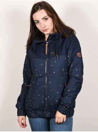 Alife and Kickin BLACK MAMBA marine AOP zimní dámská bunda - modrá