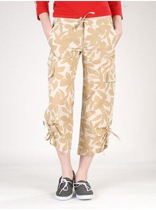 Quiksilver QLWWP143 BEI plátěné kalhoty dámské - béžová