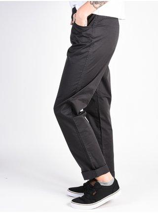 Fox Dodds Chino BLACK VINTAGE plátěné kalhoty dámské - černá