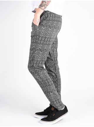 Rip Curl TROPIC TRIBE black plátěné kalhoty dámské - černá