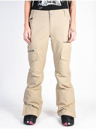 ARMADA WHIT KHAKI dámské zimní kalhoty - béžová