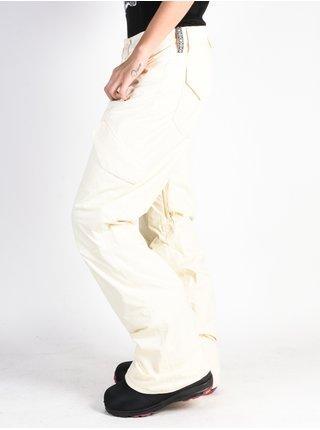 Burton FLY CANVAS dámské zimní kalhoty - bílá