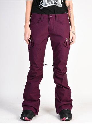 Burton WB GLORIA STARLING dámské zimní kalhoty - fialová