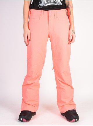 Roxy BACKYARD NEON GRAPEFRUIT dámské zimní kalhoty - růžová