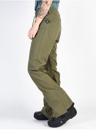 Dc VIVA BIO WASH BEETLE dámské zimní kalhoty - zelená