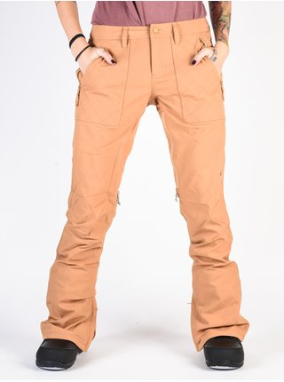 Burton VIDA CAMEL dámské zimní kalhoty - oranžová
