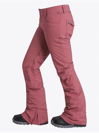 Billabong TERRY CRUSHD BERRY dámské zimní kalhoty - červená