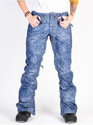 Dc VIVA DARK BLUE ACID WASH DENIM A dámské zimní kalhoty - modrá