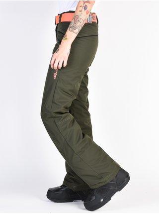 Rehall LOTTIE olive dámské zimní kalhoty - zelená