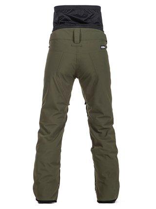 Horsefeathers HAILA olive dámské zimní kalhoty - zelená