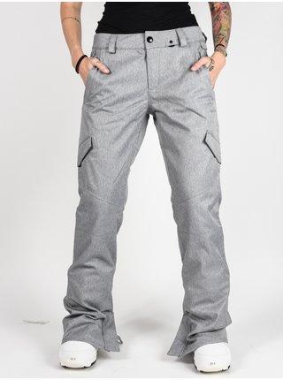 Volcom Bridger Ins HEATHER GREY dámské zimní kalhoty - šedá