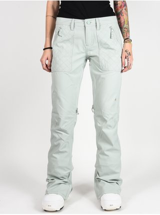 Burton VIDA AQUA GRAY dámské zimní kalhoty - šedá