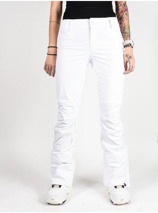 Roxy CREEK BRIGHT WHITE dámské zimní kalhoty - bílá