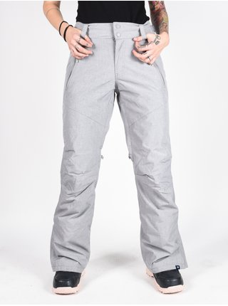 Roxy WINTERBREAK HEATHER GREY dámské zimní kalhoty - šedá
