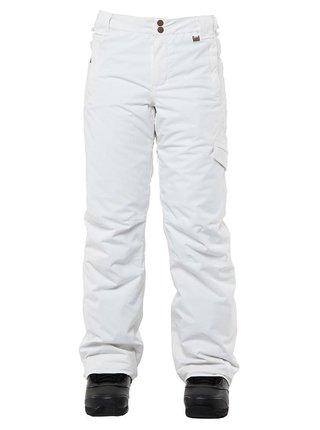 ROJO ADVENTURE AWAITS SNOW WHITE dámské zimní kalhoty - bílá