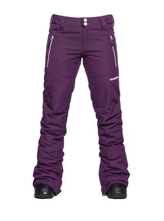 Horsefeathers AVRIL GRAPE dámské zimní kalhoty - fialová