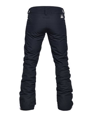 Horsefeathers AVRIL black dámské zimní kalhoty - černá