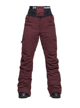Horsefeathers LOTTE RAISIN dámské zimní kalhoty - hnědá