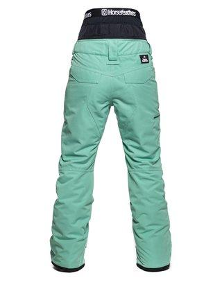Horsefeathers LOTTE PEPPERMINT dámské zimní kalhoty - modrá