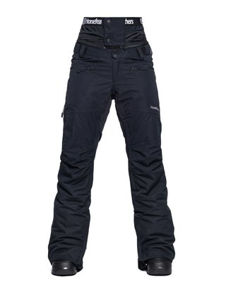 Horsefeathers LOTTE black dámské zimní kalhoty - černá