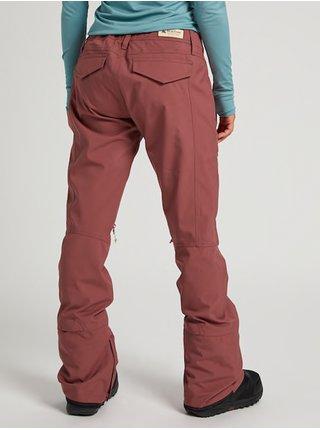 Burton VIDA ROSE BROWN dámské zimní kalhoty - růžová