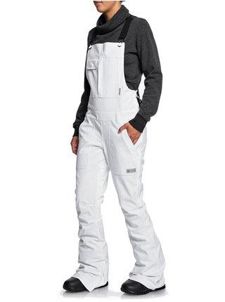 Dc COLLECTIVE white dámské zimní kalhoty - bílá